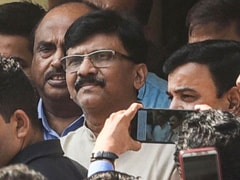 """Next Chief Minister From..."": Sanjay Raut After Leaving Hospital"