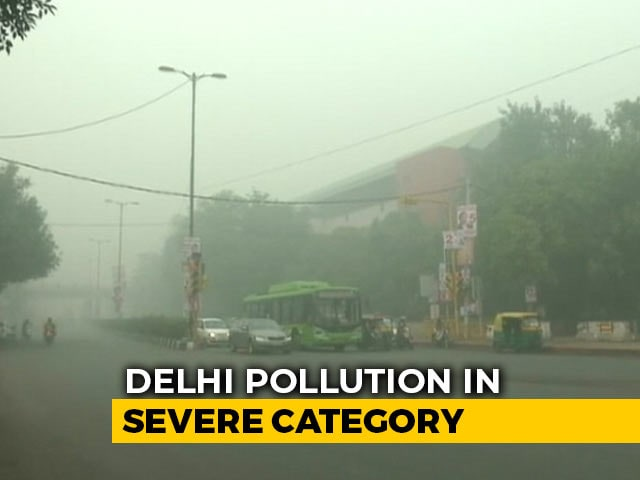 Video : 25 Per Cent More Patients With Respiratory Issues In Delhi Due To Pollution