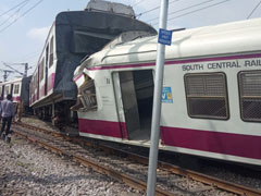 2 Trains Collide At Railway Station In Hyderabad, 12 Injured