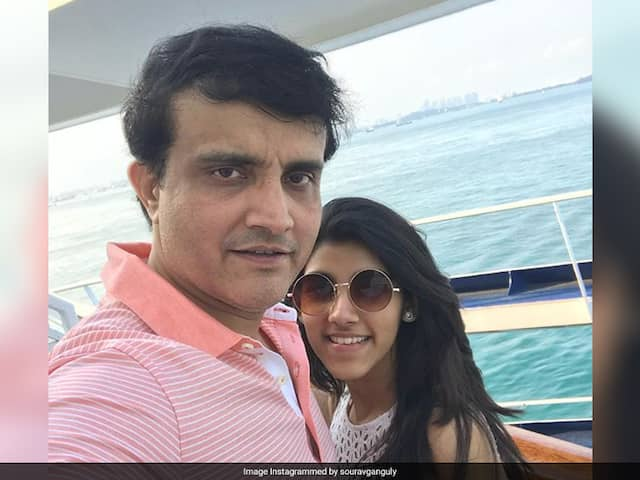 Sourav Ganguly Engages In Funny Banter With Daughter Sana, Wins Over Internet