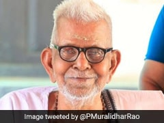 Akkitham Achuthan Namboothiri, 93-Year-Old Poet From Kerala, Wins Jnanpith Award