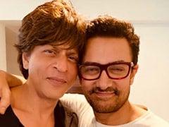 Seen Shah Rukh Khan's Tweet On Aamir Khan's <I>Laal Singh Chaddha</i> Yet?