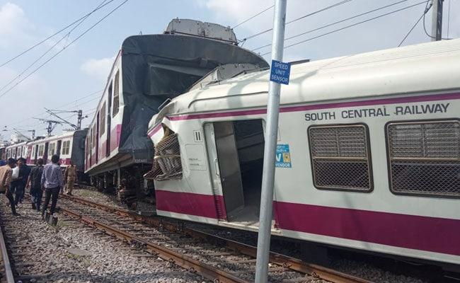 हैदराबाद ट्रेन टक्कर हादसे में घायल हुए लोको पायलट की इलाज के दौरान मौत