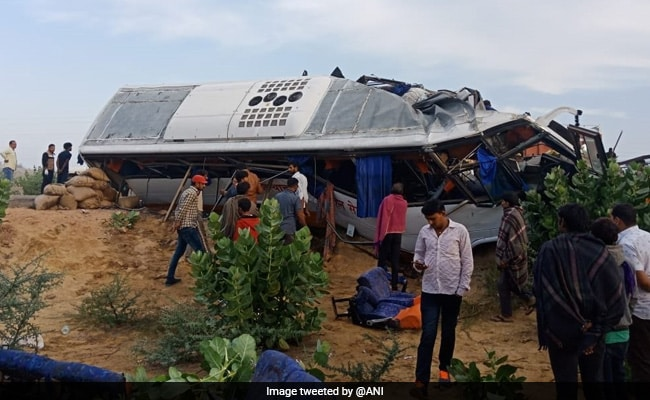 12 Killed, 14 Injured As Bus Collides With Truck In Rajasthan's Bikaner