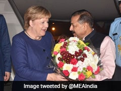 German Chancellor Arrives In Delhi, To Hold Talks With PM Modi Today