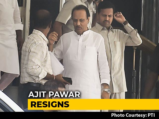 Video : Ajit Pawar Quits Before Maharashtra Floor Test