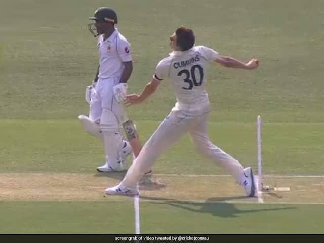 Australia vs Pakistan: Third Umpire Messes Up Pat Cummins No-Ball Against Pakistan, Angers Twitter