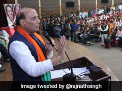 India Is No Longer A Weak Nation: Rajnath Singh
