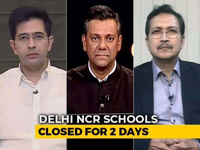 Video : Air Emergency: Delhi-NCR Schools Closed For Next 2 Days