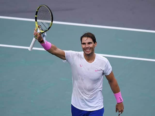 TENNIS: Rafael Nadal & Novak Djokovic plays in Australia open