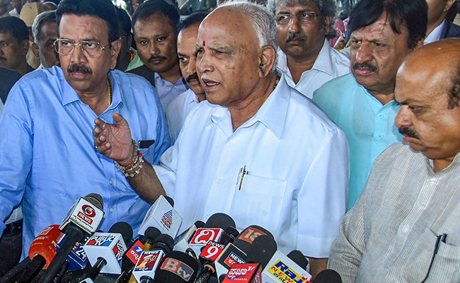 BS Yediyurappa Says Congress, JDS Tie-Up Talks 'Don't Have Any Value'