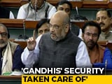 "Video : ""Vindictive Approach Not Part Of BJP's Ethic"": Amit Shah On SPG Row"