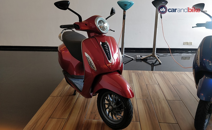 Bajaj Chetak Electric Scooter Launch Live Updates: Price, Specifications, Features, Images