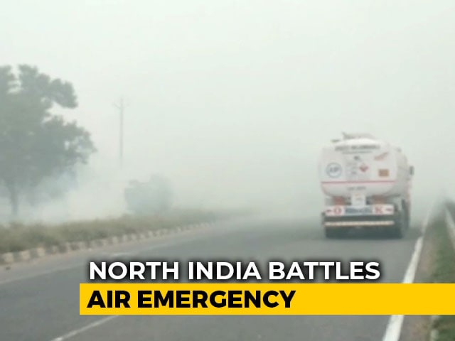 Video : Delhi Air Improves Slightly But Pollution Worsens In Western UP