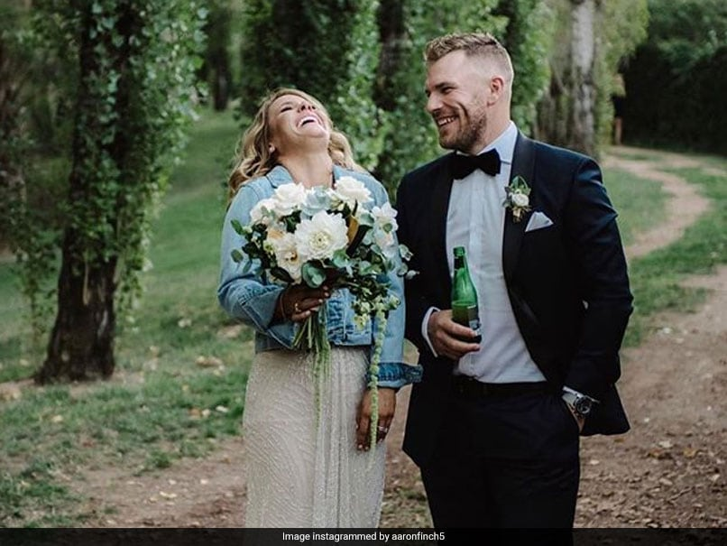 Aaron Finch's Wife Crashes His Q&A Session, Batsman Wins It With Sweet Reply