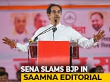 "Video : ""No One Was Willing To Align With BJP..."": Shiv Sena's Swipe On NDA Exit"