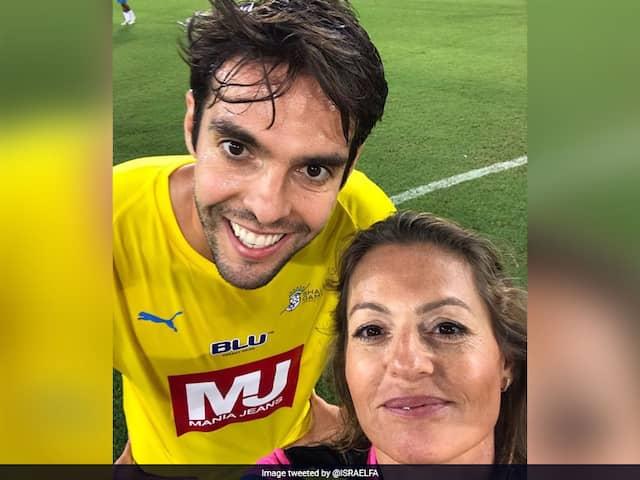Watch: Woman Referee Shows Yellow Card To Brazil Legend Kaka, Then Takes Selfie Mid-Match