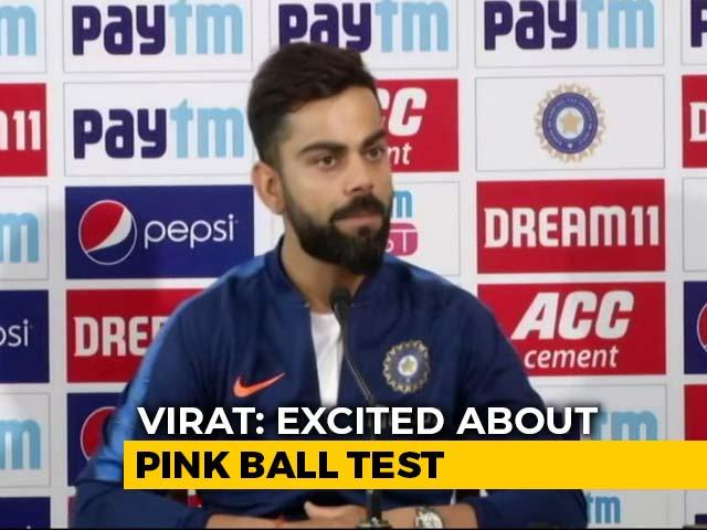 Virat Kohli Says Day-Night Test In Kolkata, India