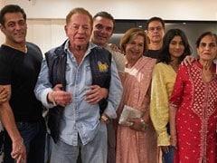 Inside Salman Khan's 'Fam-Jam' With Salim Khan, Salma Khan, Helen, Arpita, Aayush Sharma - And Katrina Kaif