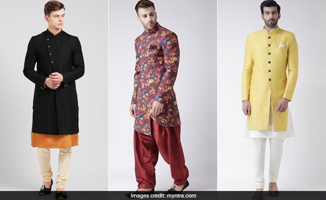 Men's Ethnic Wear: Grab These Trendy <i>Sherwanis</i> From Myntra For Upto 70% Off