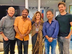 What Went Down At Hrithik Roshan's <I>Super 30</i> Dinner With Anand Kumar
