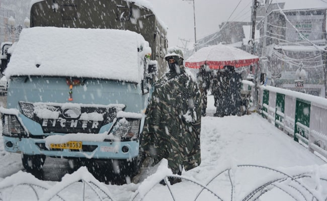 Soldier Falls Into Gorge Along LoC In North Kashmir, Dies