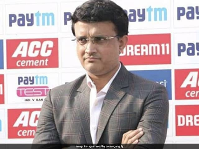 Sourav Ganguly says, A bookie had approached a player during Mushtaq Ali tournament