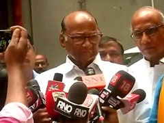 """""""Don't Know Why Governor Not Calling Single Largest Party"""": Sharad Pawar"""
