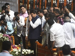 Devendra Fadnavis At Bal Thackeray Memorial Event Amid BJP-Sena Rift