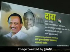 Posters In Pune Project Ajit Pawar As Maharashtra's Future Chief Minister