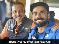 Fans Gatecrash Ravi Shastri
