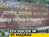 Video : IIT Madras Student Found Dead In Her Hostel Room, Police Suspect Suicide