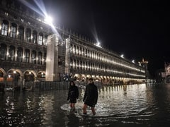 """Venice Hit By """"Exceptionally High Tide"""" In More Than 50 years"""