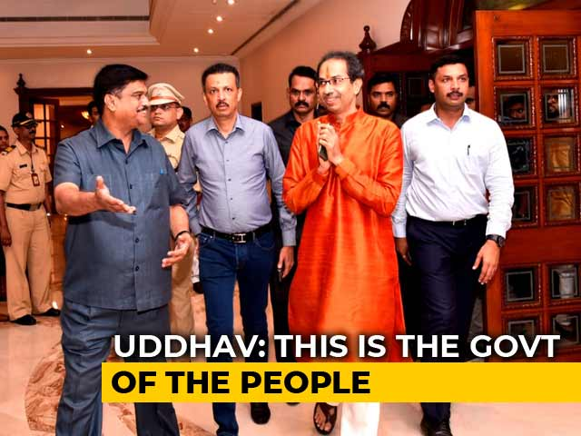 Video : Uddhav Thackeray, New Maharashtra Chief Minister, Holds First Cabinet Meet