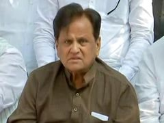 "Ahmed Patel's ""Horse Vs Donkey"" Retort After Remark On Congress' Farm Bill Promise"