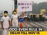 """Video : """"15 Lakh Cars Off Delhi Roads,"""" Says Arvind Kejriwal On Odd-Even"""