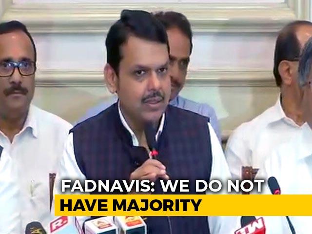 Video : Sena's Hindutva Has Bowed To Sonia Gandhi: Devendra Fadnavis