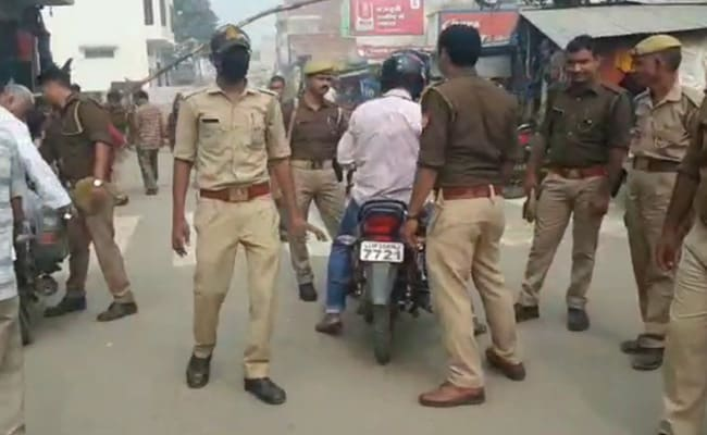 अयोध्या के चप्पे-चप्पे पर आसमान से निगरानी, यूपी के हर जिले में तगड़ी सुरक्षा