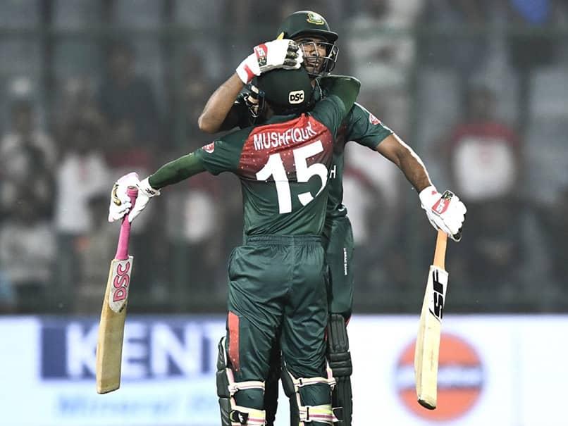 Mushfiqur Rahim Stars As Bangladesh Register First-Ever T20I Win Against India