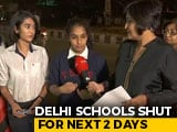 Video : Delhi Schoolchildren To Write To PM Modi For Clean Air