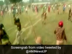 Farmers, Cops Clash In UP's Unnao In Land Dispute Over Smart City Project