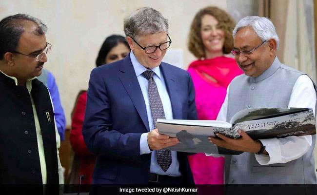 What Nitish Kumar Said That 'Impressed' Bill Gates In Patna