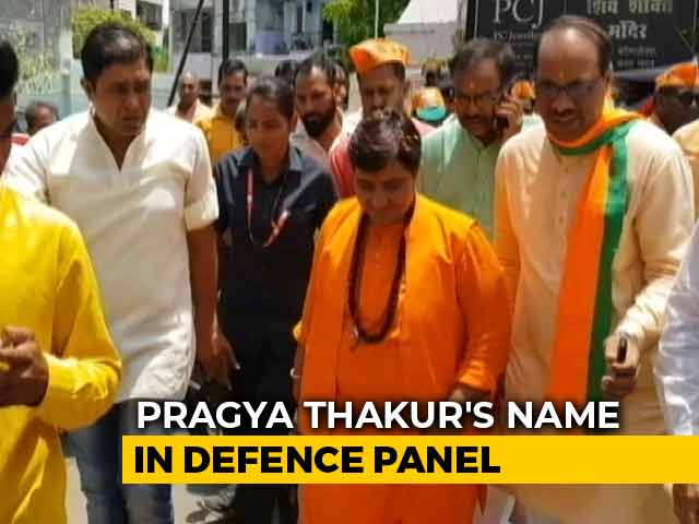 Video : Pragya Thakur Forgiven By BJP?