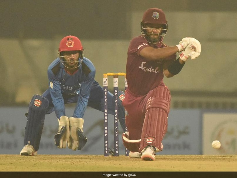Shai Hope Century Powers West Indies To ODI Sweep Over Afghanistan