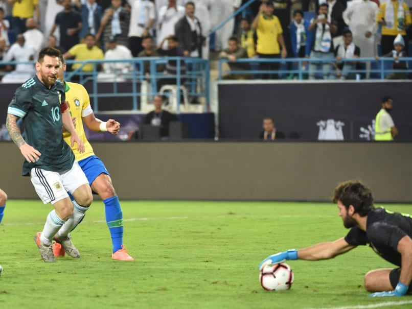 Brazil vs Argentina: Lionel Messi Scores On Argentina Return To Sink Brazil