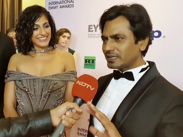 Team Sacred Games At The International Emmy Awards 2019
