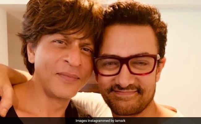 Seen Shah Rukh Khan's Tweet On Aamir Khan's Laal Singh Chaddha Yet?