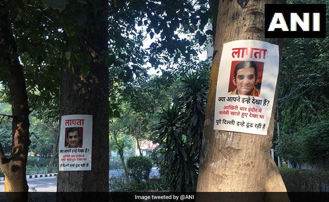 Gautam Gambhir's 'Missing' Posters In Delhi As He Skips Pollution Meet
