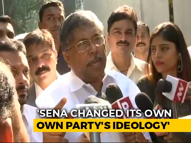 Video : BJP Leader On What Compelled The Party To Form Maharashtra Government
