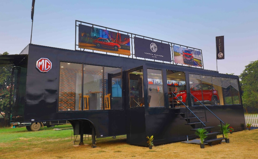 MG Motor India Launches Mobile Showroom;Focus On Tier 2 And Tier 3 Markets